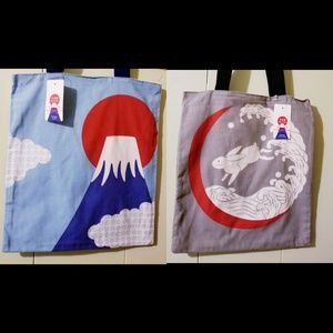 Japanese Tote Bags NWT 🇯🇵